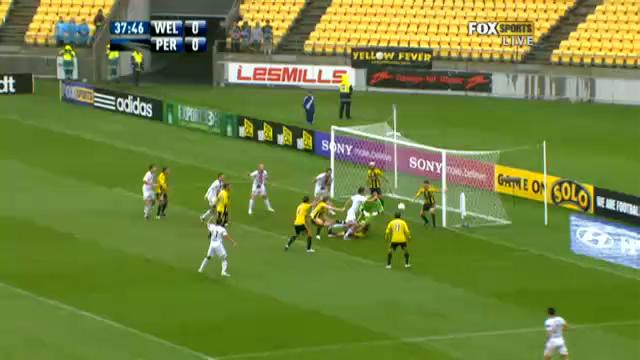 A-League saves of week 14