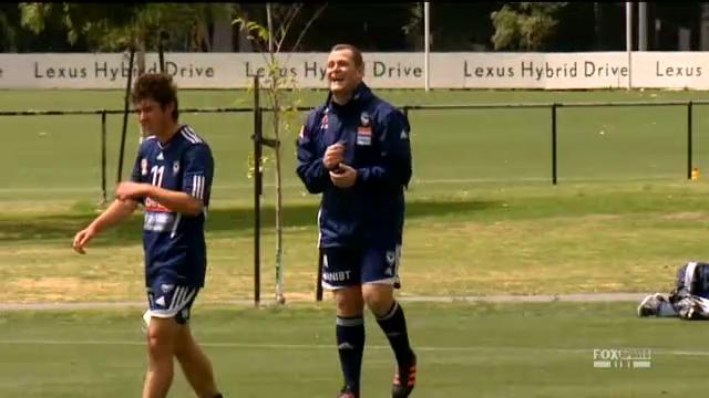 Magilton takes first session