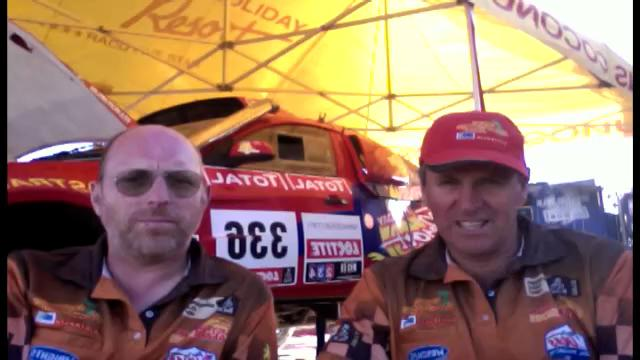 Geoff Olholm talks Dakar