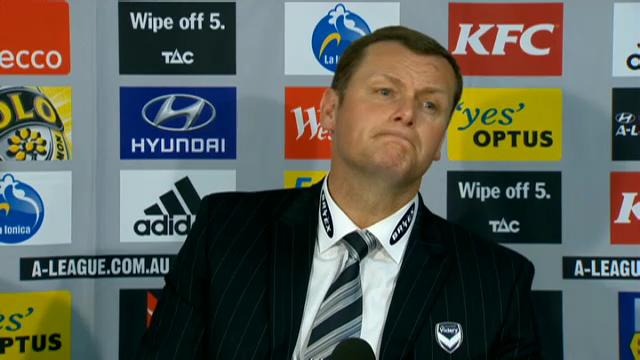 Melbourne Victory slump