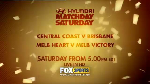 Matchday Saturday