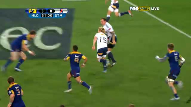 Super Rugby top tries