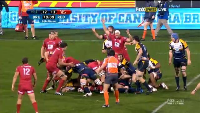 BRU v RED: match highlights