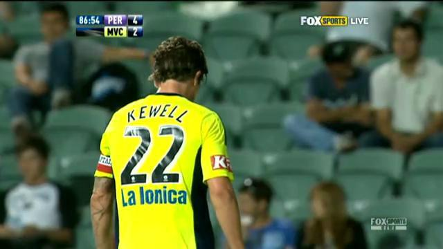 Kewell walks out on Victory
