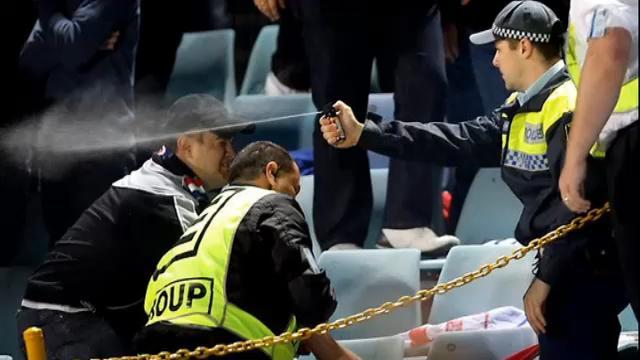 Spectators get five-year bans