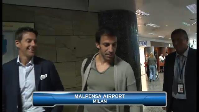 Del Piero departs for Sydney