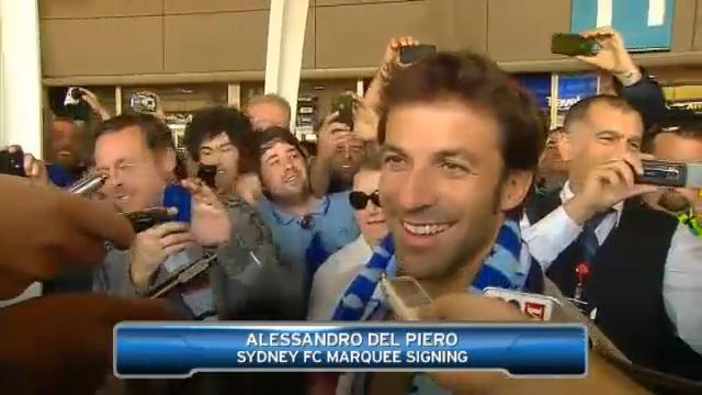 Welcome to Sydney, Alessandro
