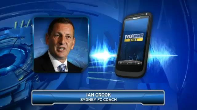 Crook on Sydney FC captaincy
