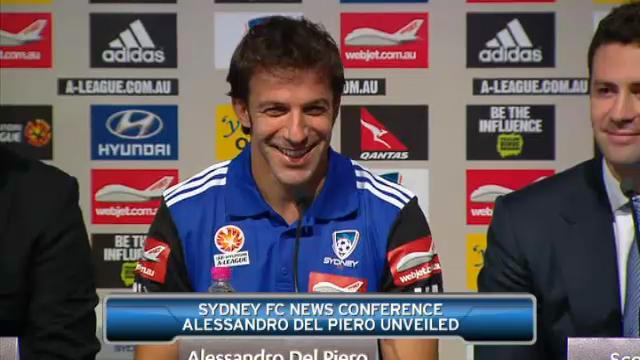 Del Piero officially unveiled