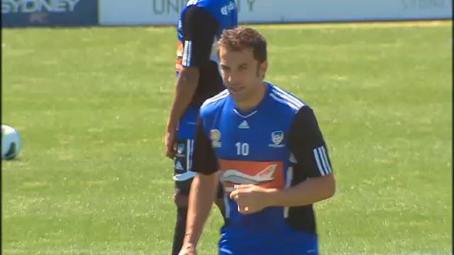 Del Piero fit for round one