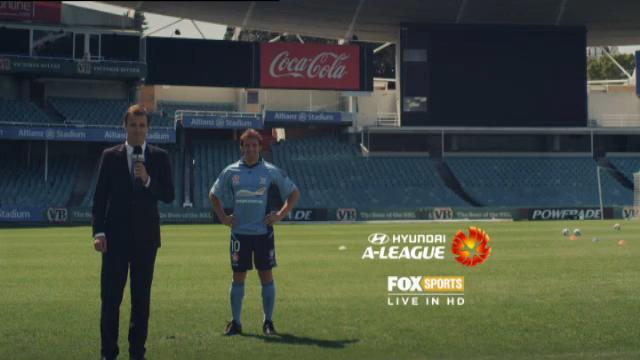 Del Piero on Fox Sports