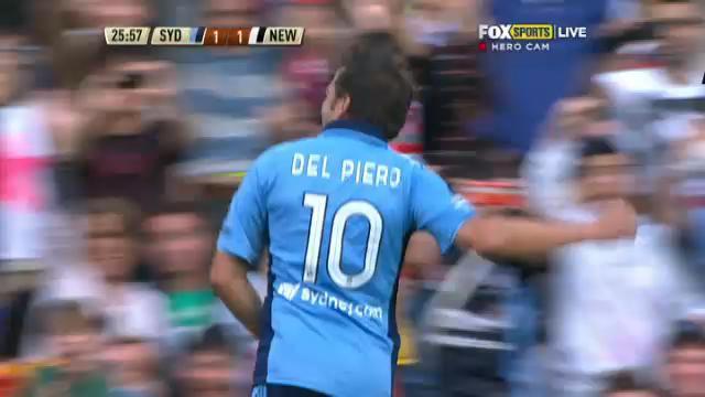 Del Piero's stunning goal