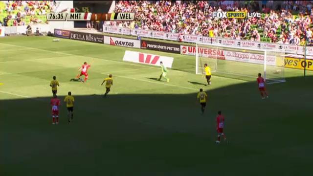 MHT v WEL: match highlights