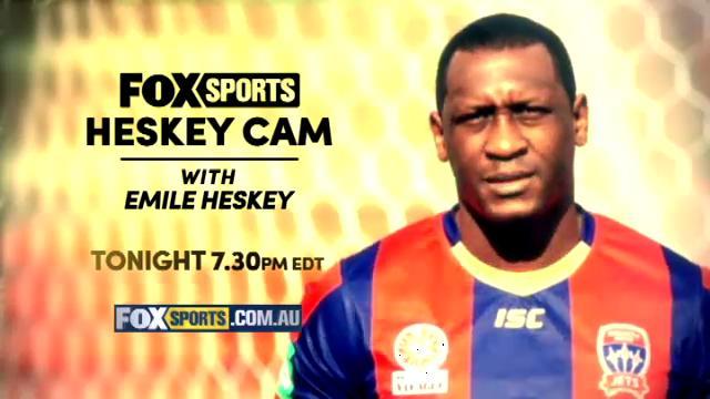 Get set for Heskey Cam!