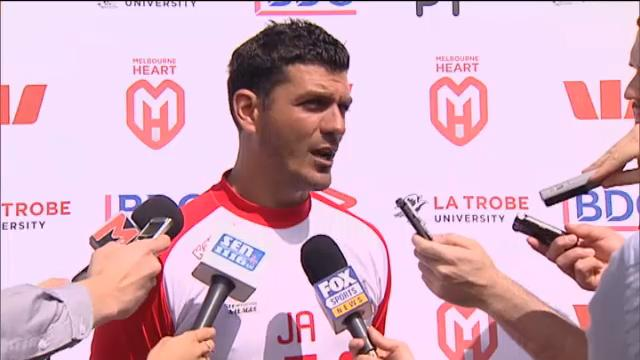 Heart's chances good: Aloisi