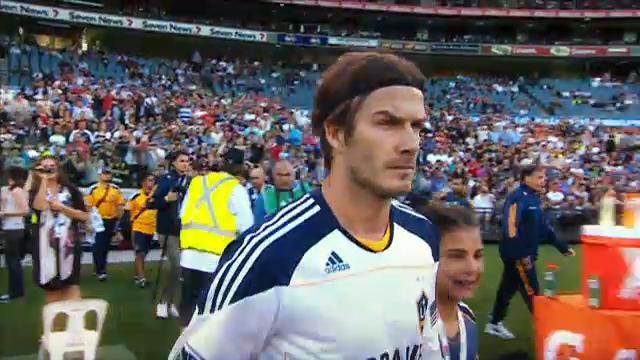 Beckham talk on Kick Off