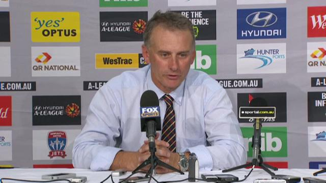 Newcastle Jets presser