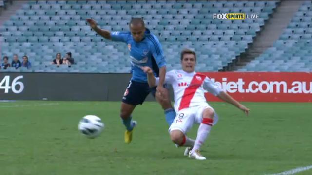 Aloisi livid at Fabio tackle