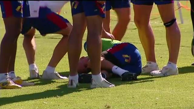 Zadkovich injures knee
