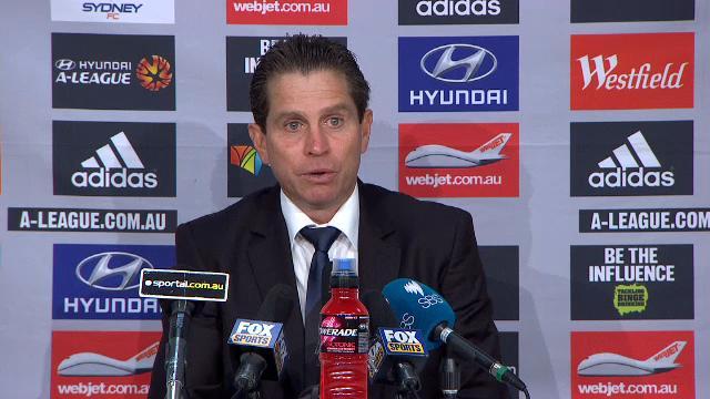 Sydney FC press conference