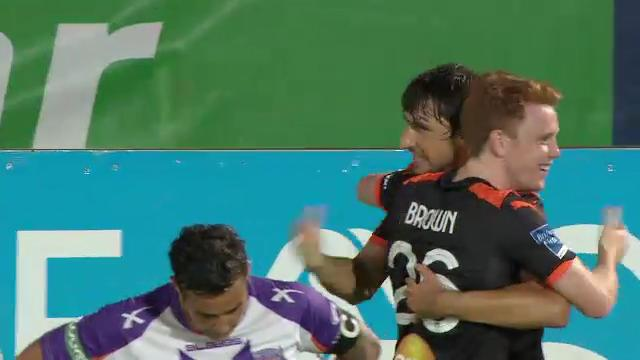PER v BRI: match highlights