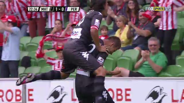 MHT v PER: match highlights