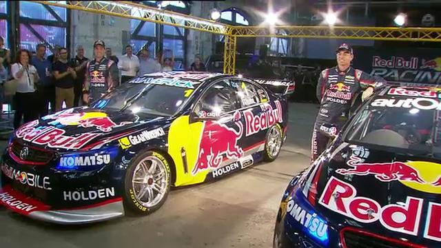 Red Bull reveals V8 racers
