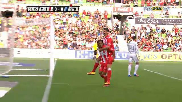 MHT v SYD: match highlights