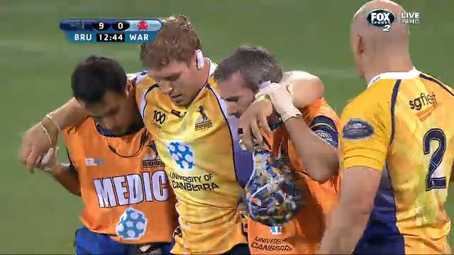 BRU v WAR: match highlights