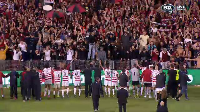 Wanderers start the party