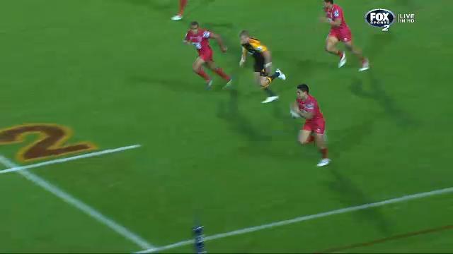 CHI v RED: match highlights