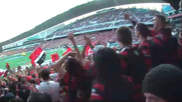 Wanderers fan hat camera