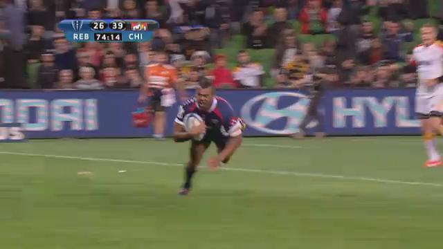 REB v CHI: match highlights