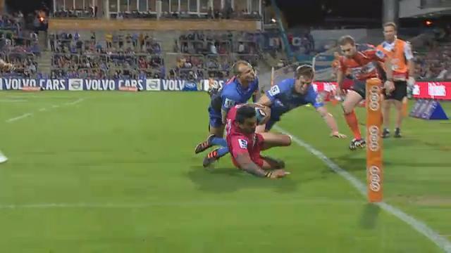 WFR v RED 1st half highlights
