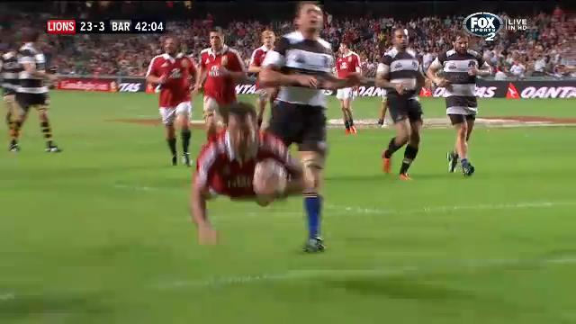 Lions rout Barbarians