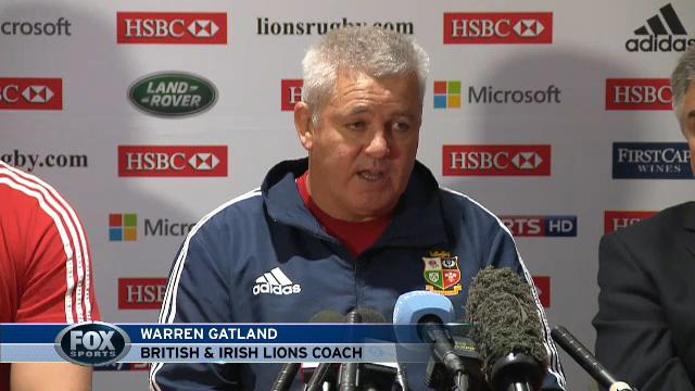 Gatland explains team choices