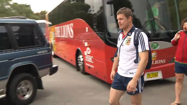 O'Driscoll out, Lions move on
