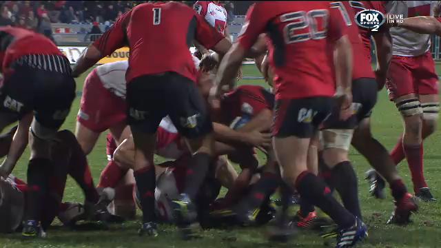CRU v RED: Match News Report