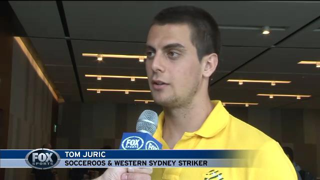 Tom Juric: new Socceroo