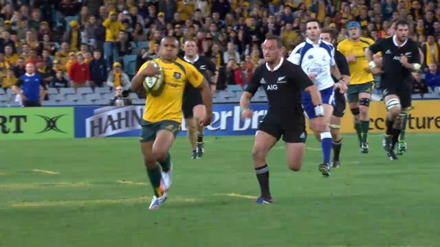 AUS v NZL 1st half highlights