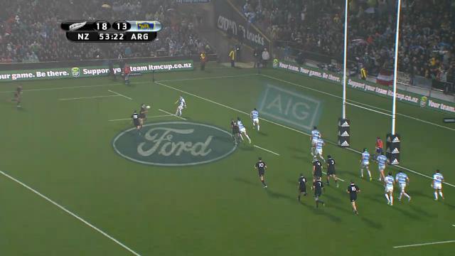 NZL v ARG: Match highlights