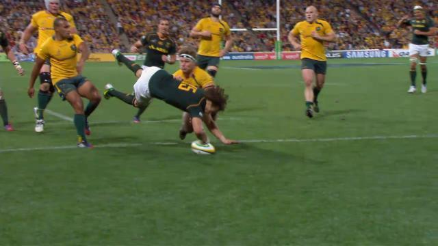 AUS v RSA: Match highlights