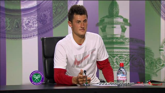 Tomic speaks about Father