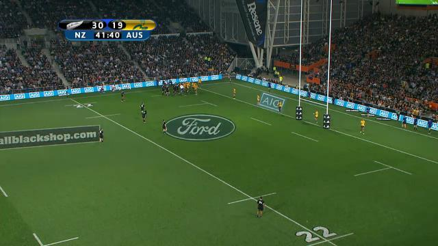 NZL V AUS: 2nd half replay