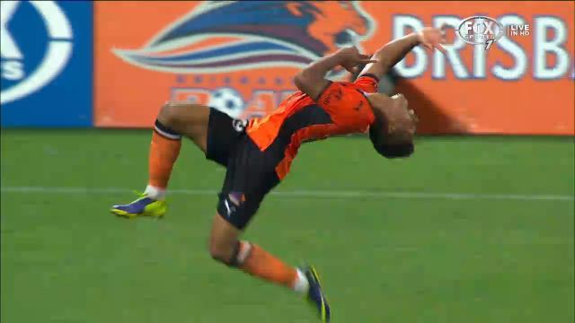 Yeboah back flip-flop