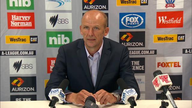 Perth Glory presser