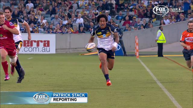 Brumbies defeated by Reds