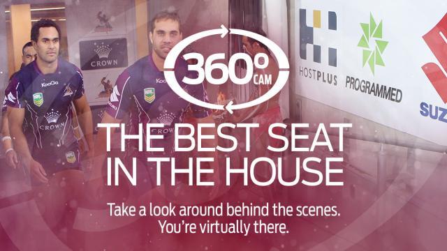 360 Cam Pre-Game: MAN v MEL