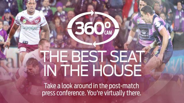 360 Cam post-match: MAN v MEL