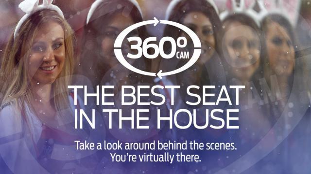 360 Cam Pre-Game: SYD v PAR